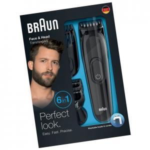 Триммер Braun MGK3020 6-в-1 по уходу за волосами