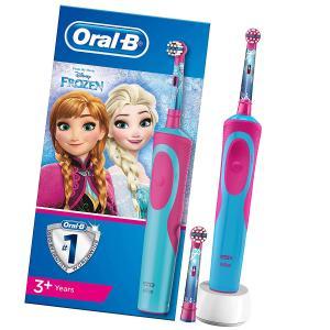 Детская электрическая зубная щетка Oral-B Frozen Kids